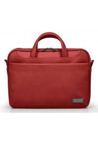 Czerwona torba na laptopa PORT DESIGNS elegancka