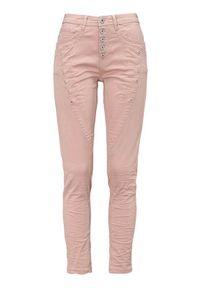 Różowe jeansy Cellbes
