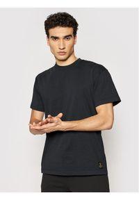 Deus Ex Machina T-Shirt Plain Military DMP201810 Czarny Box Fit. Kolor: czarny