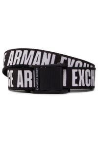 Armani Exchange - Pasek Męski ARMANI EXCHANGE - 941057 0A860 32574 Nero. Kolor: czarny. Materiał: materiał
