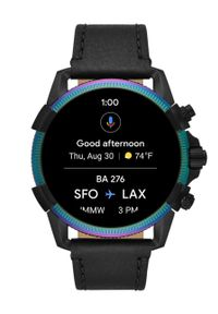 Czarny zegarek Diesel smartwatch