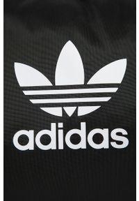 Czarna torba adidas Originals z nadrukiem
