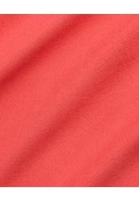 Ralph Lauren - RALPH LAUREN - Koszula Slim Fit. Typ kołnierza: polo. Kolor: czerwony. Materiał: bawełna. Długość rękawa: długi rękaw. Długość: długie. Wzór: haft. Styl: klasyczny, elegancki
