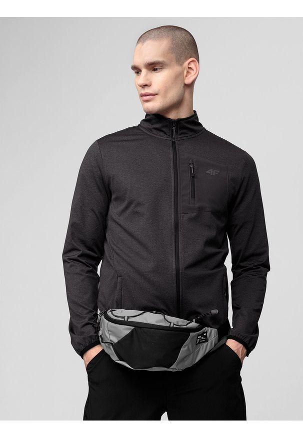4f - Bluza funkcyjna męska. Kolor: szary. Materiał: włókno, dzianina