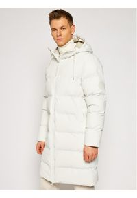 Biała kurtka puchowa Rains casualowa, na co dzień