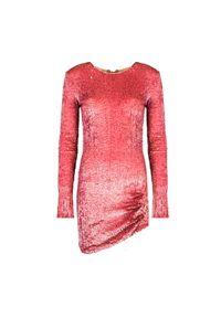 Sukienka Pinko dopasowana, mini, z długim rękawem