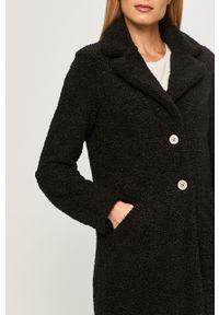 Czarny płaszcz Vila na co dzień, klasyczny #6