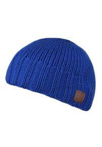 Niebieska czapka Spree klasyczna, na zimę