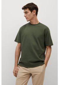T-shirt Mango Man gładki