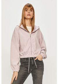 only - Only - Bluza. Kolor: fioletowy. Materiał: dzianina. Wzór: gładki