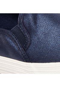 Niebieskie półbuty Keds z cholewką, na płaskiej podeszwie #7