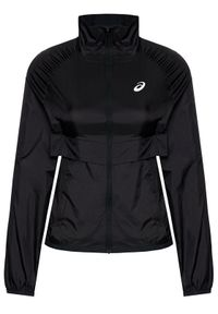 Czarna kurtka przejściowa Asics
