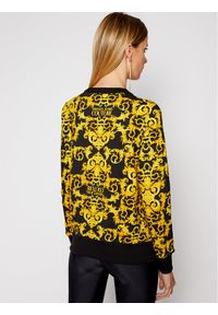 Versace Jeans Couture Bluza B6HWA795 Żółty Regular Fit. Kolor: żółty
