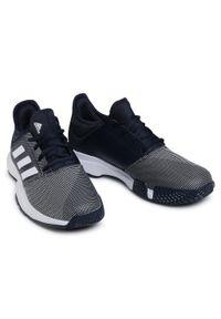 Niebieskie buty do tenisa Adidas