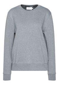 Calvin Klein Bluza Ls Logo Stud K20K202353 Szary Regular Fit. Kolor: szary