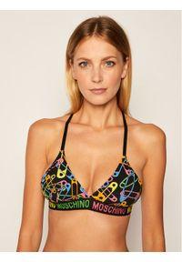 Czarny biustonosz Moschino Underwear & Swim