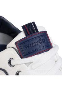 Białe półbuty Wrangler z cholewką, casualowe, na co dzień