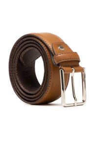 U.S. Polo Assn - Pasek Męski U.S. POLO ASSN. - WIUYD2201MHA500 Brown. Kolor: brązowy. Materiał: skóra