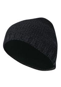 Szara czapka Just Yuppi na jesień, sportowa