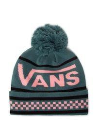 Vans - Czapka VANS - Pep Rally II Be VN0A54Z6GOS1 Jasper. Kolor: zielony. Materiał: materiał, nylon, akryl, elastan