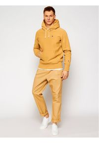 Champion Bluza Reverse Weave 214675 Beżowy Custom Fit. Kolor: beżowy