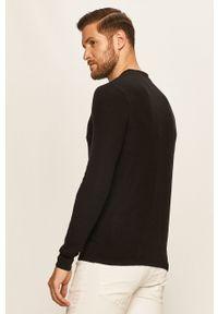 Czarny sweter Guess Jeans z aplikacjami
