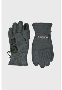Szare rękawiczki columbia