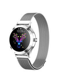 Srebrny zegarek ARMODD smartwatch