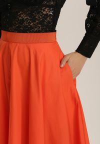 Pomarańczowe jegginsy Renee
