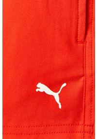 Czerwone kąpielówki Puma