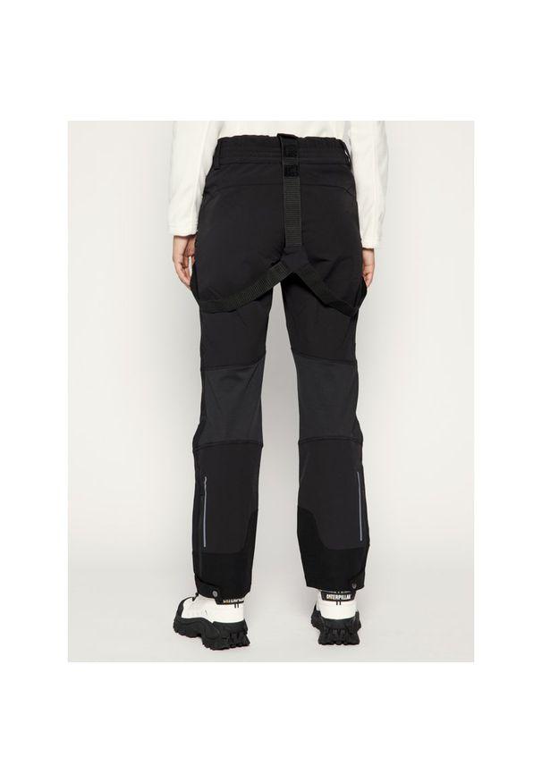 Czarne spodnie narciarskie Jack Wolfskin