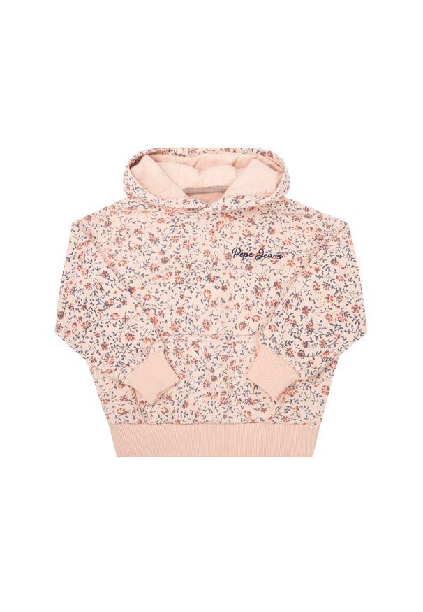 Różowa bluza Pepe Jeans