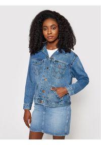Niebieska kurtka jeansowa Wrangler retro