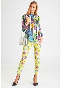 JEANSY Versace Jeans Couture. Stan: podwyższony. Styl: klasyczny