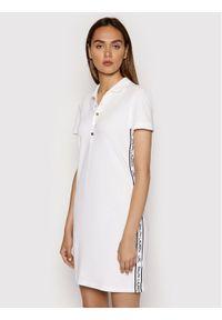 Lauren Ralph Lauren Sukienka codzienna Shift 200841013002 Biały Regular Fit. Okazja: na co dzień. Kolor: biały. Typ sukienki: proste. Styl: casual