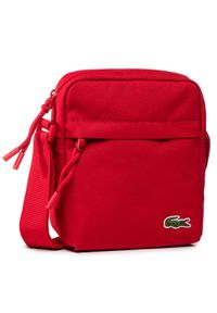 Lacoste Saszetka Vertical Camera Bag NH2102NE Czerwony. Kolor: czerwony #1