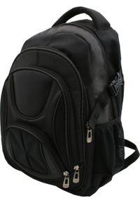 Czarny plecak na laptopa KEMER