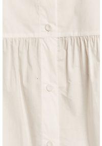 Biała bluzka TOMMY HILFIGER z dekoltem karo, casualowa #6