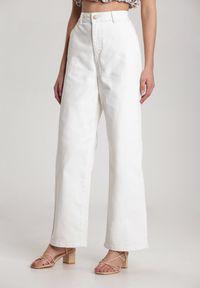 Białe jeansy Renee