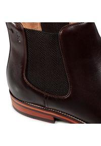 Brązowe buty wizytowe Digel klasyczne