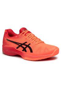 Pomarańczowe buty do tenisa Asics