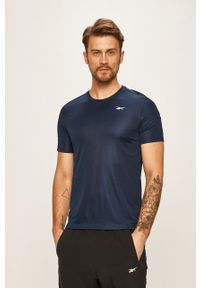 Niebieski t-shirt Reebok