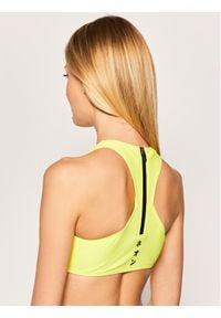 Superdry Góra od bikini W3010002A Żółty. Kolor: żółty