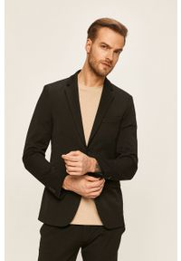 Tailored & Originals - Marynarka. Kolor: czarny. Styl: klasyczny