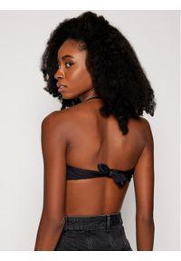 Czarne góra bikini Moschino Underwear & Swim