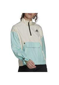 Adidas - adidas Back To Sport WIND.RDY Anorak > GM4344. Materiał: materiał, poliester. Styl: sportowy
