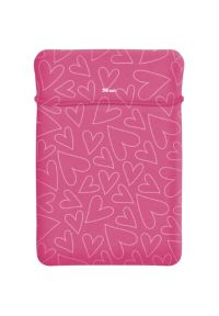 Różowa torba na laptopa TRUST biznesowa