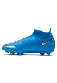 Buty piłkarskie dla dzieci Nike Phantom GT Club Dynamic Fit JR MGCW6727. Materiał: skóra, materiał, syntetyk. Sport: piłka nożna