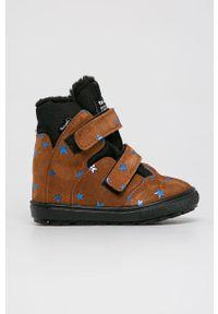 Buty zimowe Mrugała z cholewką, na zimę