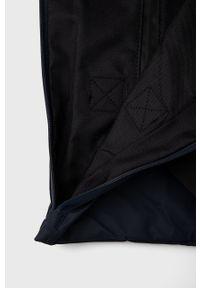 Rains - Torebka 1225 Tote Bag Rush. Kolor: niebieski. Rodzaj torebki: na ramię